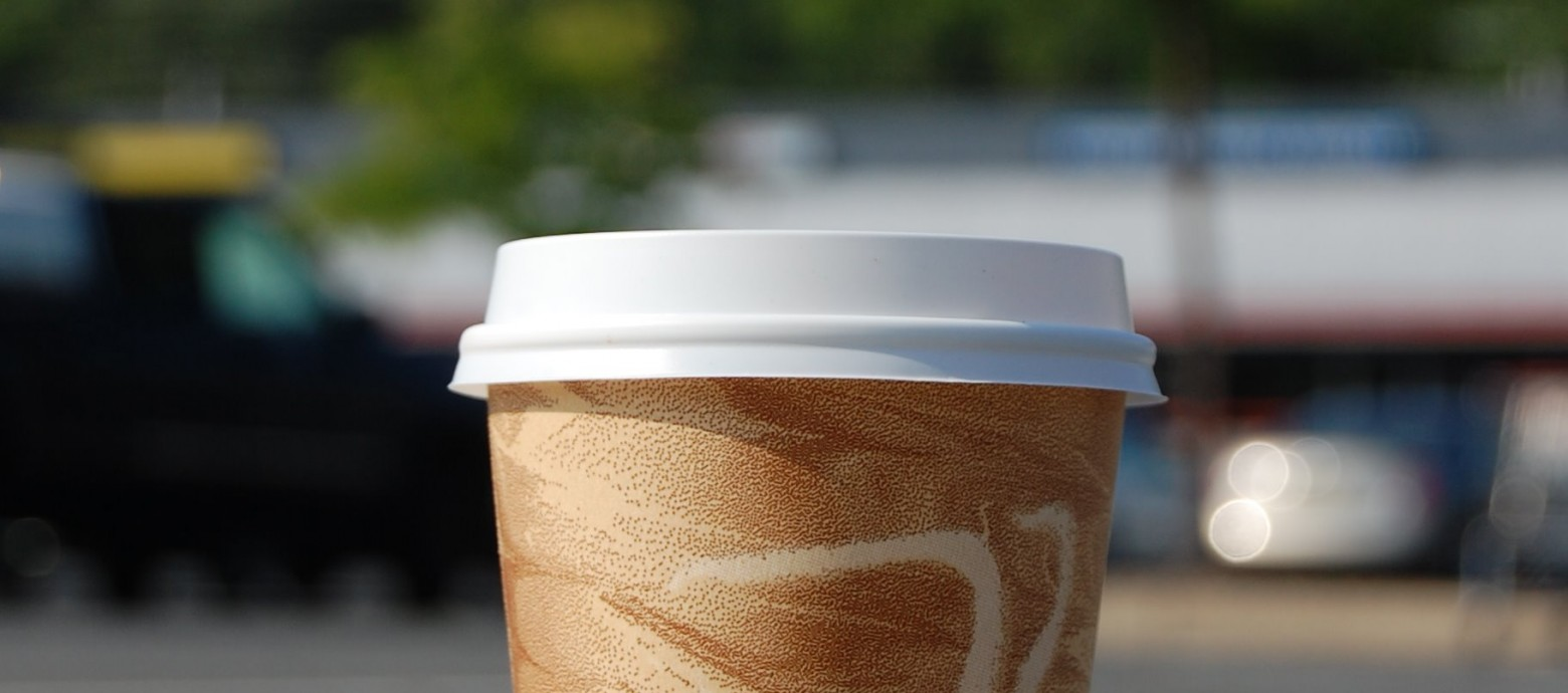 Coffee cups IMPACT marine environment