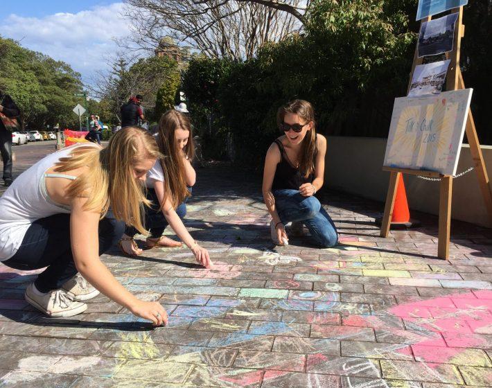 Talk and Chalk: Connecting Mosman