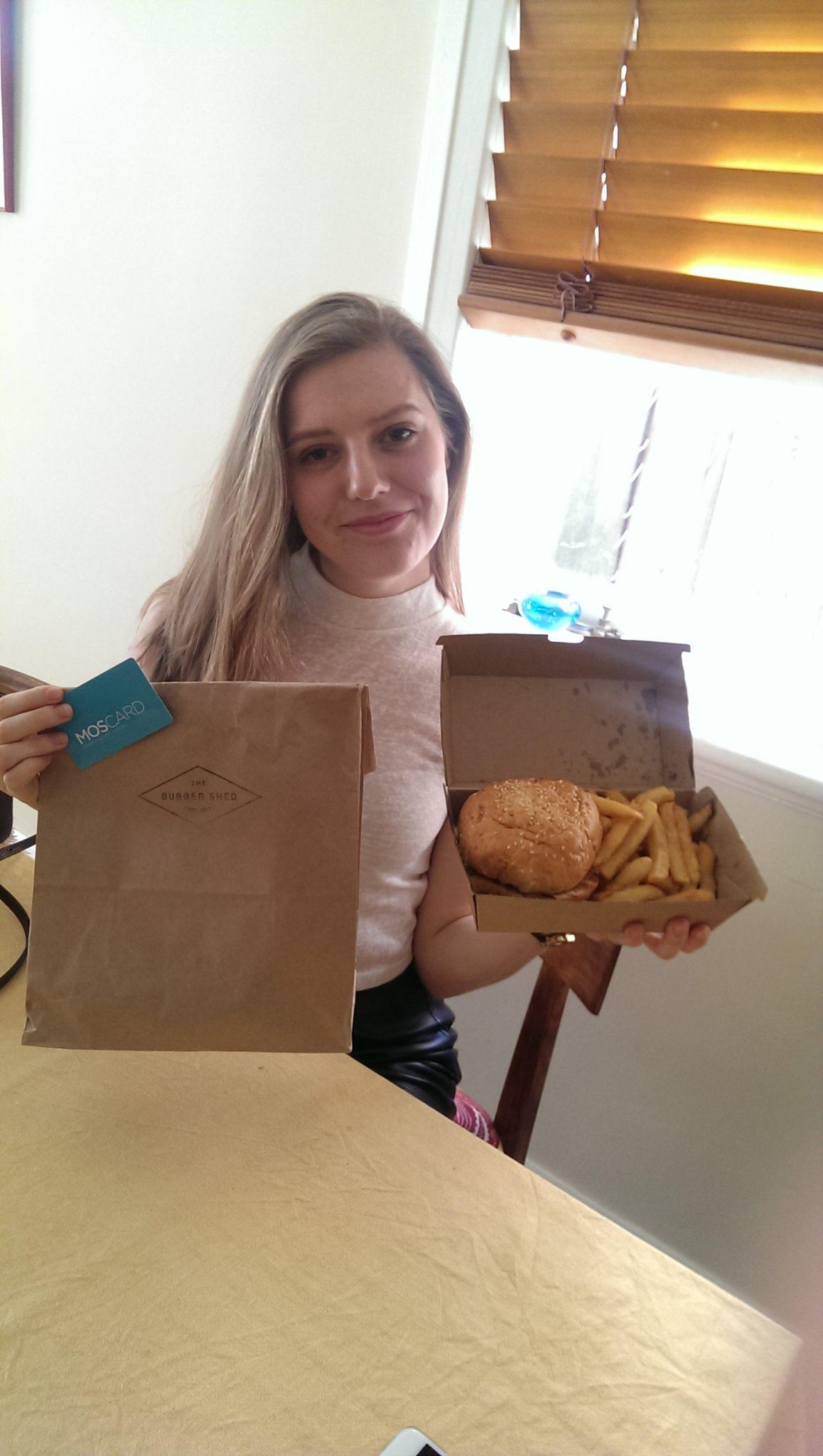 the burger shed Kat