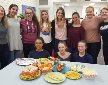 Girls Only Cook Off – A feast and a half!