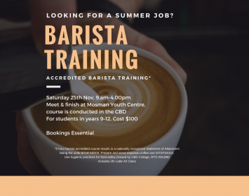 Accredited Barista Training Course