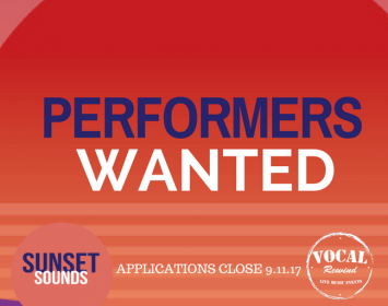 Acoustic Performers Wanted
