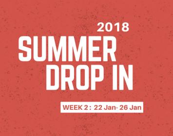 Summer Drop In 2018