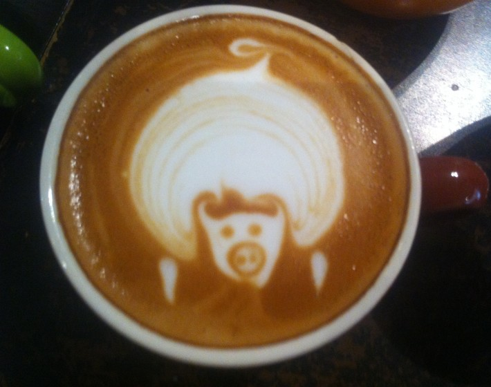 Some snaps from barista training
