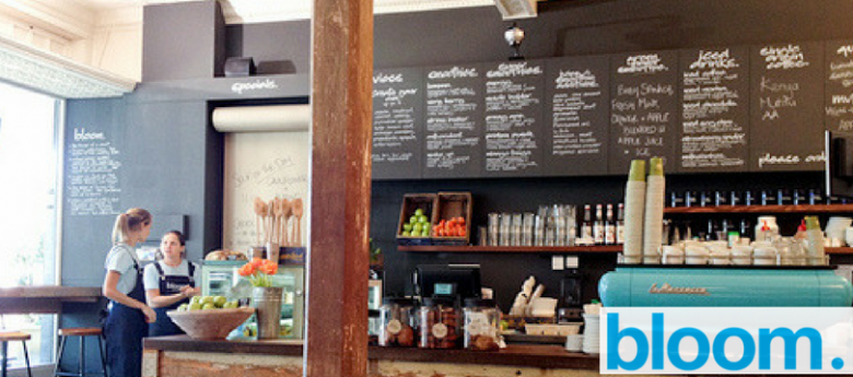 Moscard deal: 10% off your purchase from bloom cafe