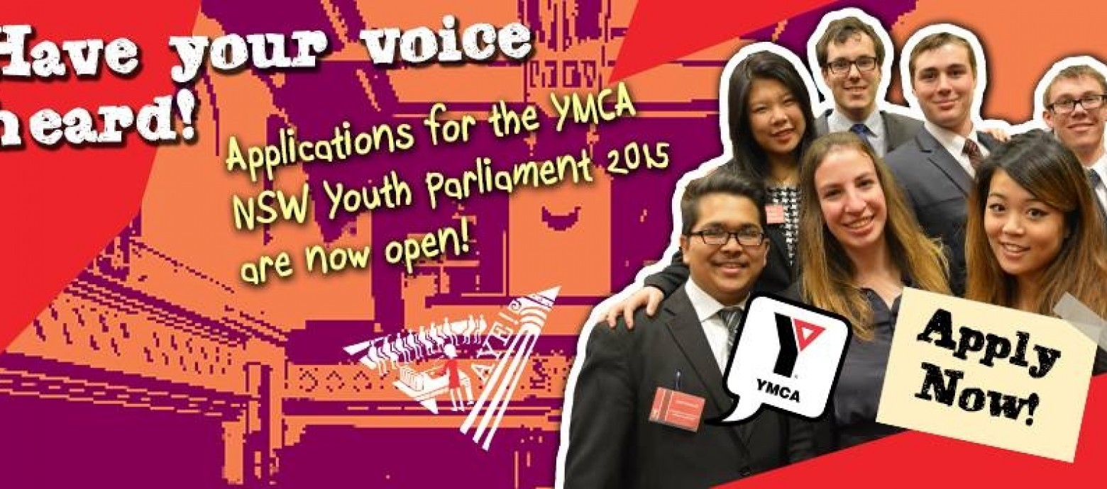 NSW Youth Parliament – Apply Now!