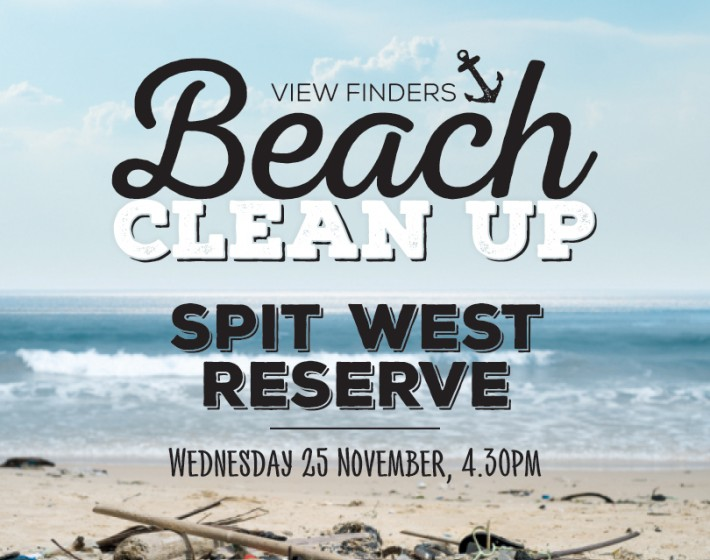 View Finders Beach Clean Up!
