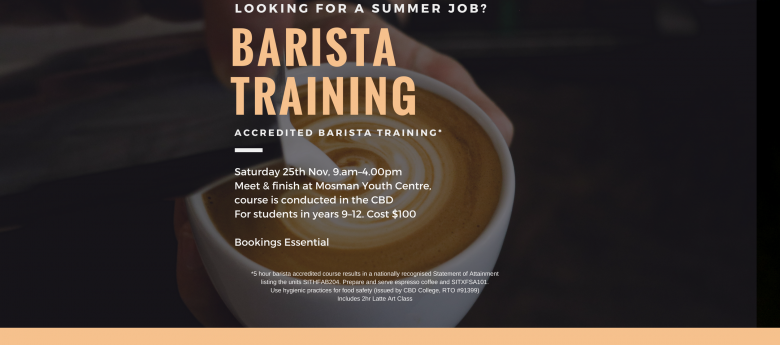 overall aim for 2 day induction training course for baristas - rent from people in castlecrag, australia from $20/night find unique places to stay with local hosts in 191 countries belong anywhere with airbnb.